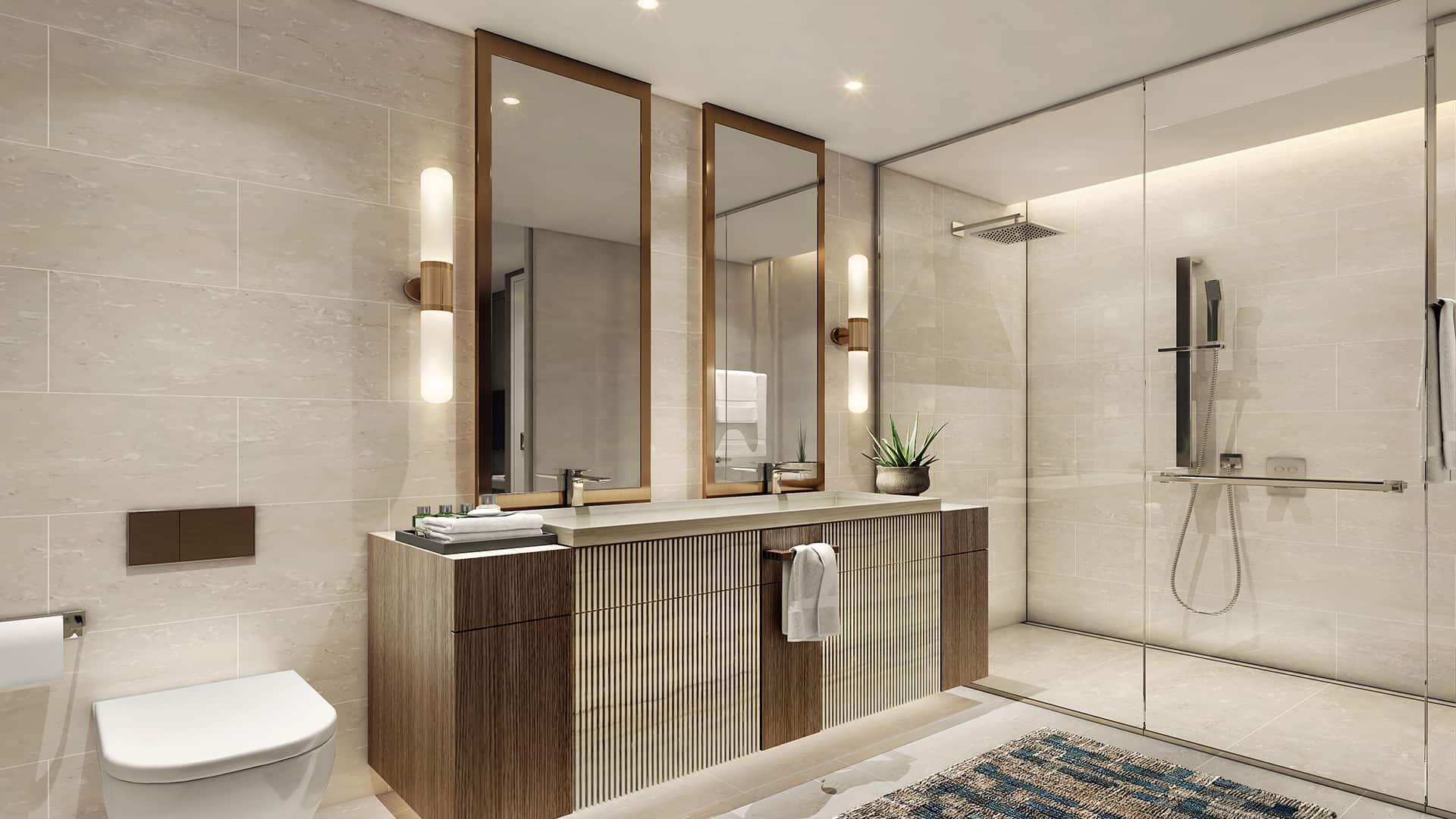2 Bedroom Residence Shower