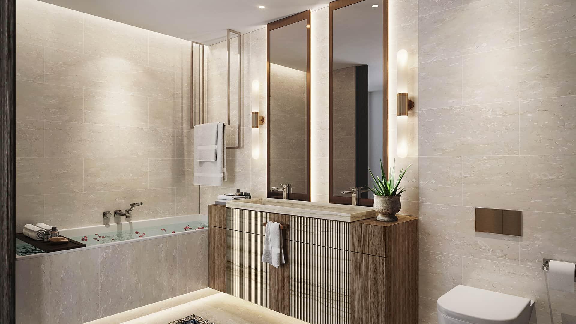 3 Bedroom Residence Shower